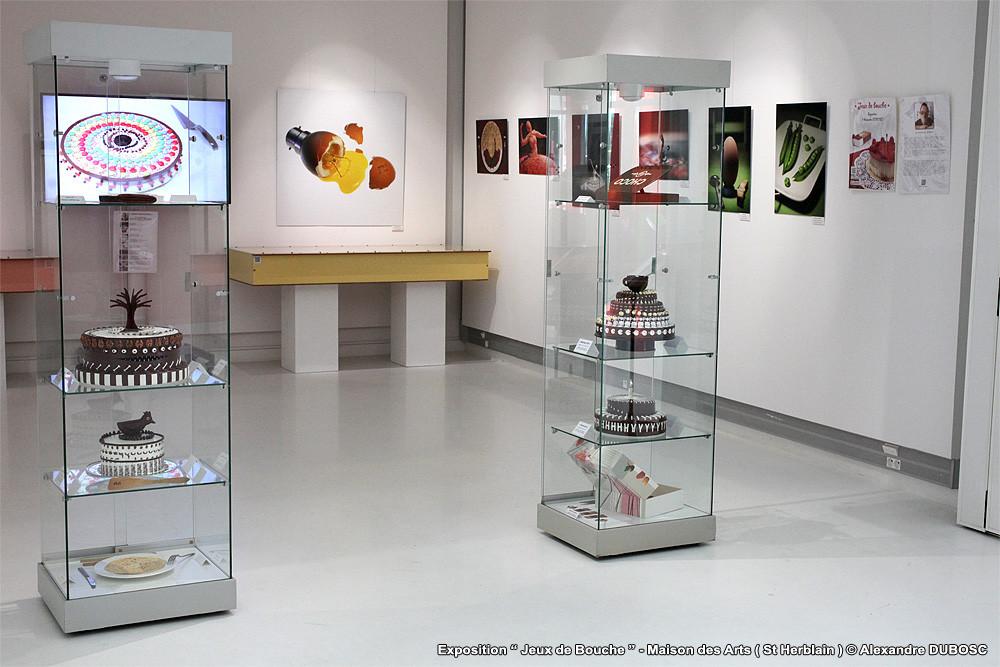 Alexandre dubosc food art exposition maison des arts for Exposition maison